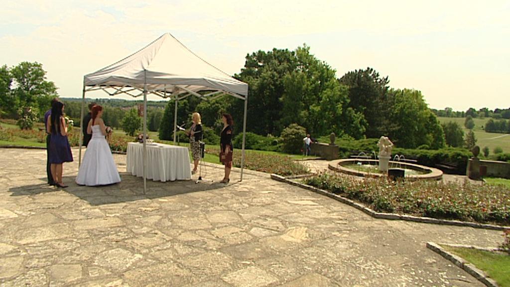 Svatba v Lidicích