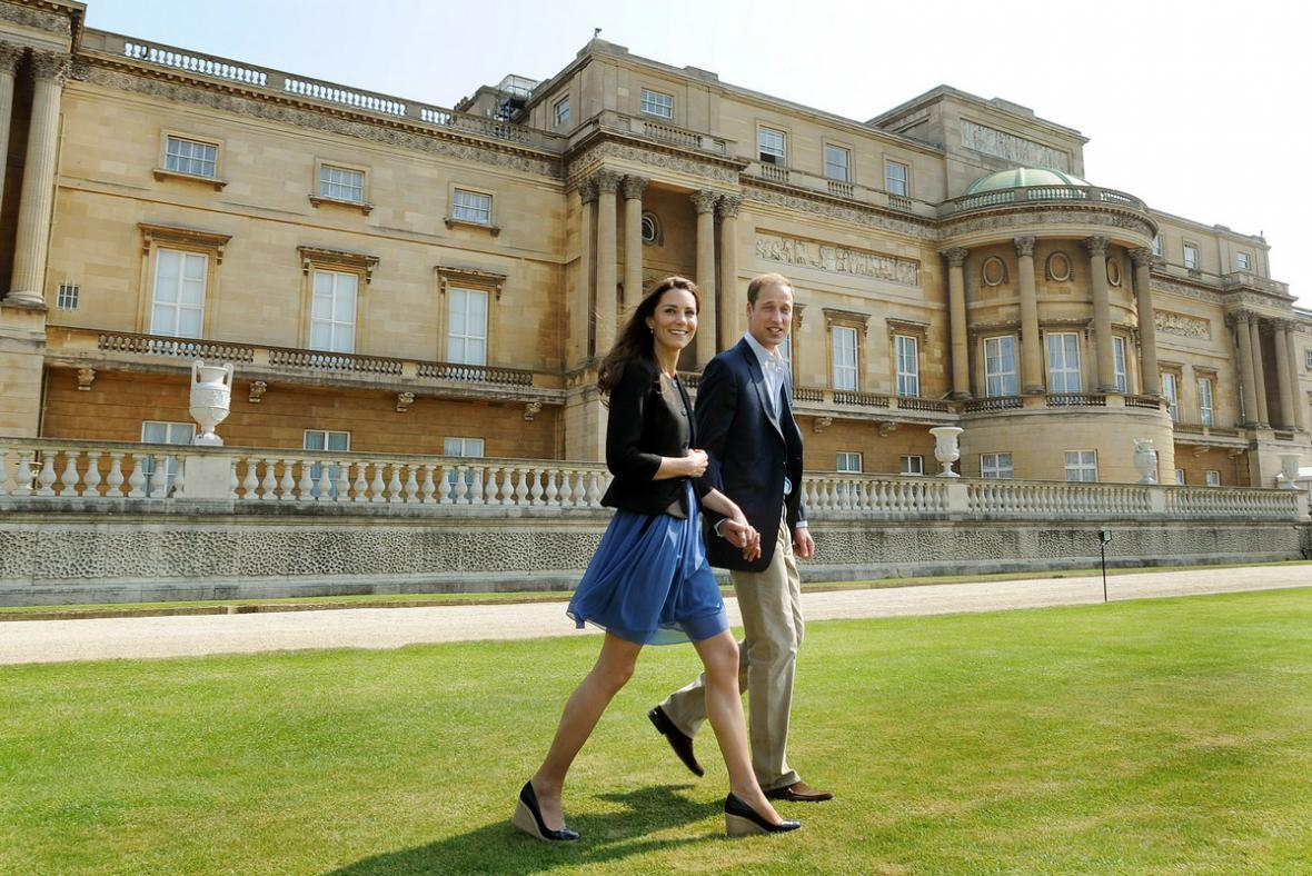 Novomanželé William a Kate