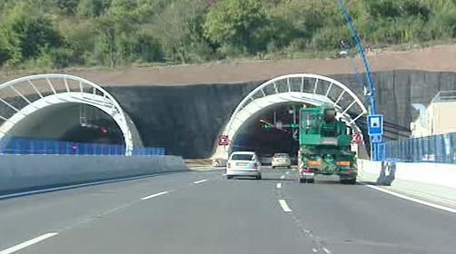 Lochkovský tunel - Pražský okruh