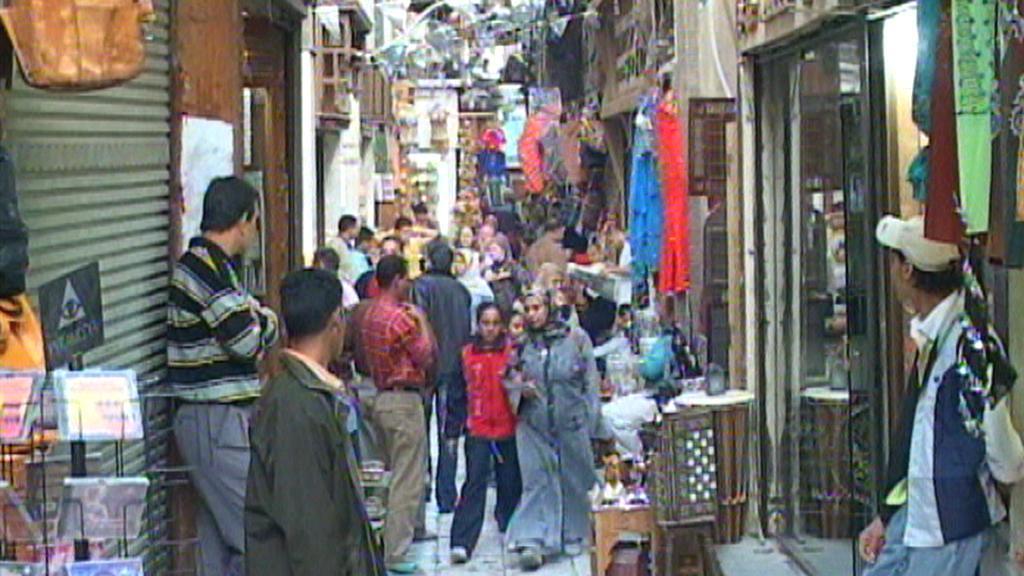 Trh v Egyptě