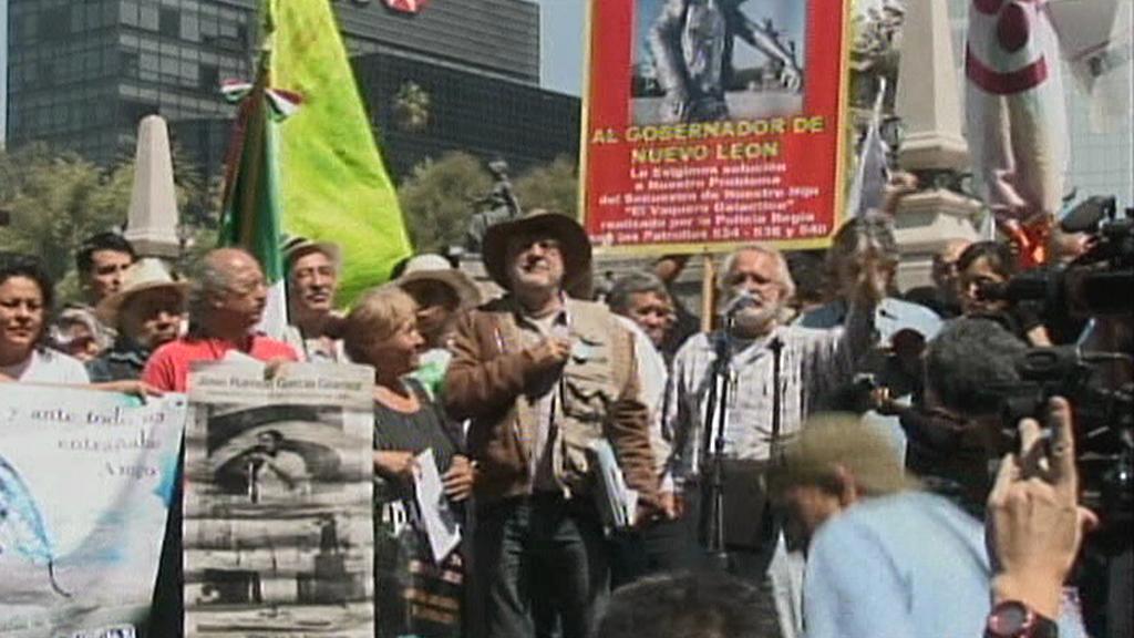 Mexický pochod proti drogám