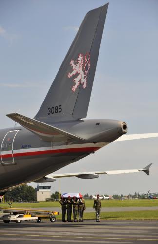 Letoun přivezl ostatky vojáka usmrceného v Afghánistánu