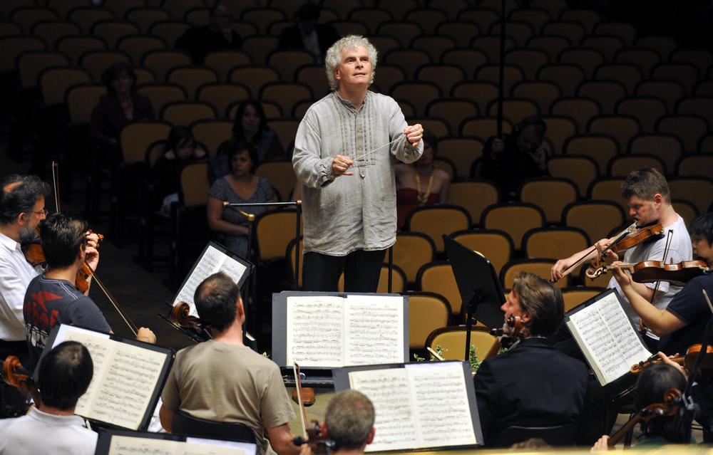 Berlínští filharmonikové na generální zkoušce