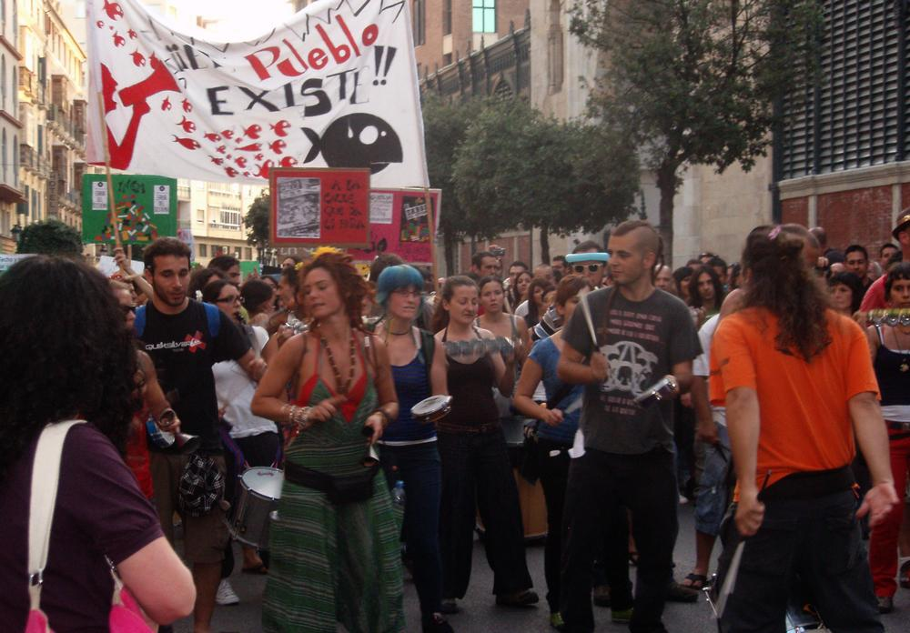 Španělé proti nezaměstnanosti