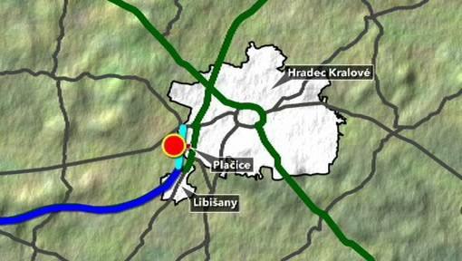 Chybějící úsek dálnice D11