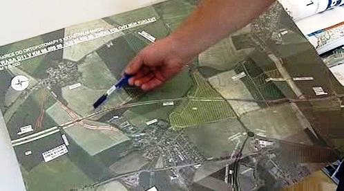 Sporné pozemky pro D11