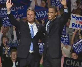 John Edwards a Barack Obama