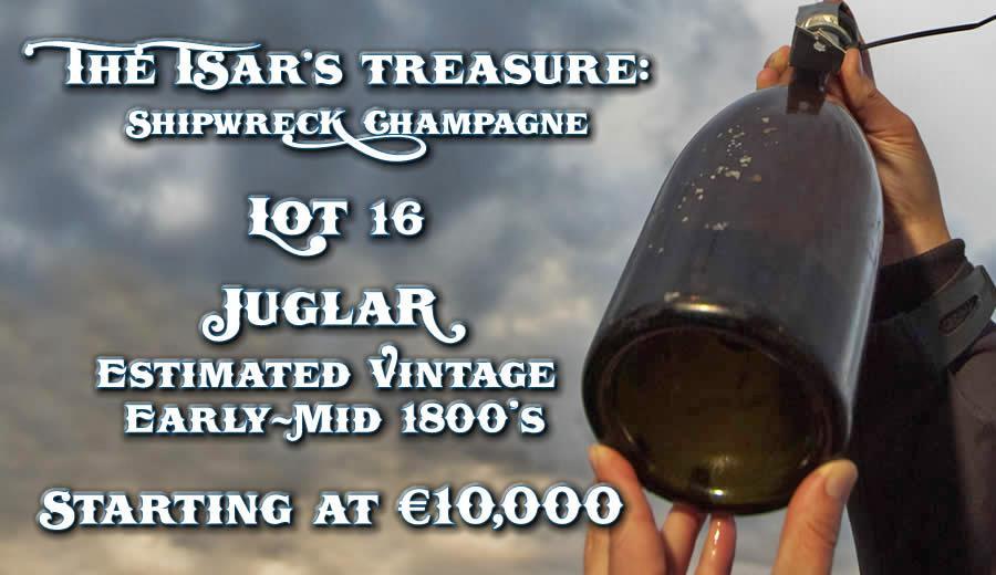 Aukce 200 let starého šampaňského