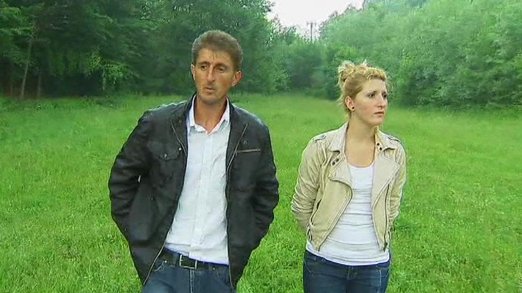 Mevludin Orić s dcerou