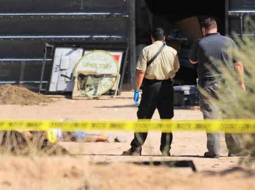 Vyšetřování střelby v Arizoně