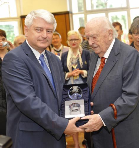 Otakar Vávra a Petr Koliha