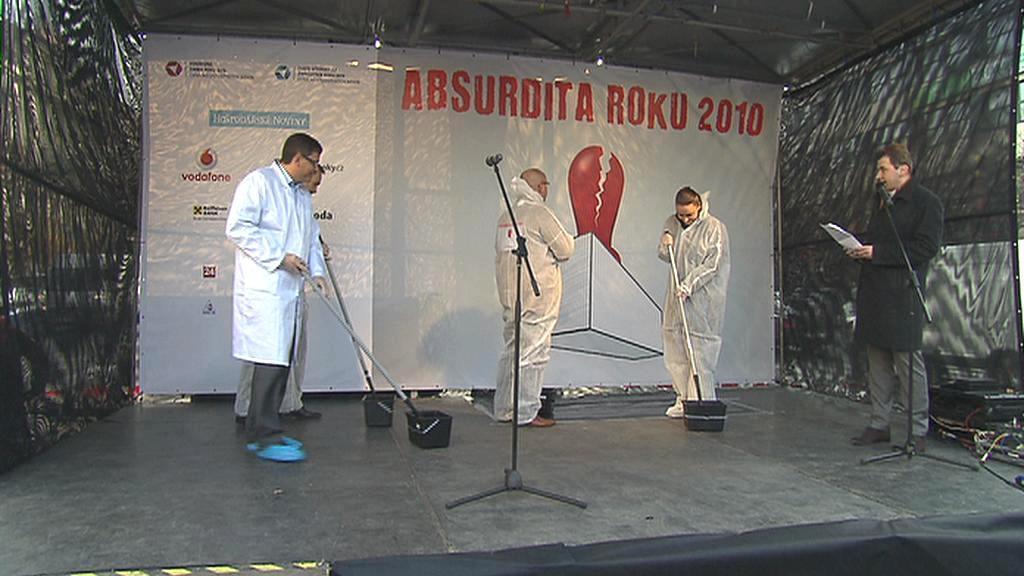 Vyhlašování soutěže Absurdita roku