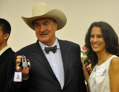 Karel Schwarzneberg, Indira Feustelová a Krteček