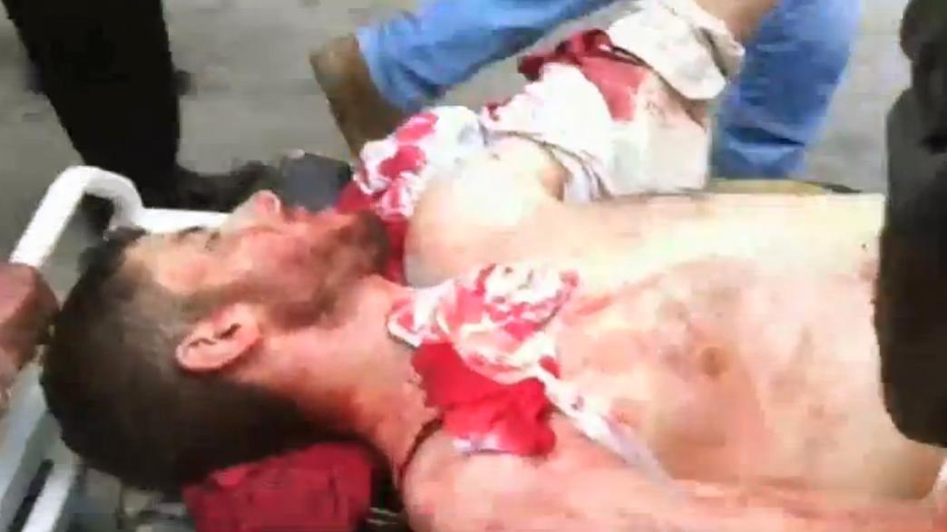 Oběť protestů v Sýrii