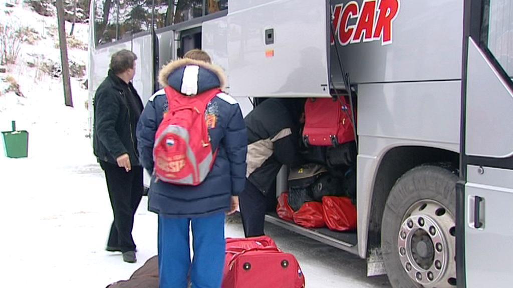 Ruští neslyšící sportovci odjíždějí ze Slovenska