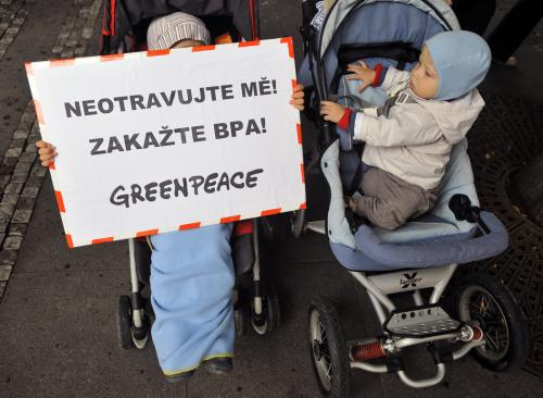 Protest Greenpeace