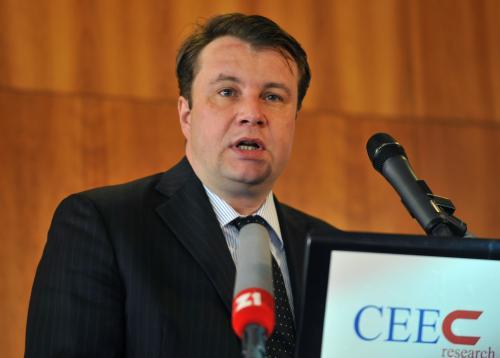 Ministr obchodu a průmyslu Martin Kocourek