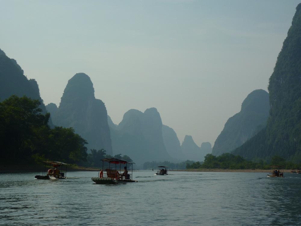 Homole kolem řeky Li
