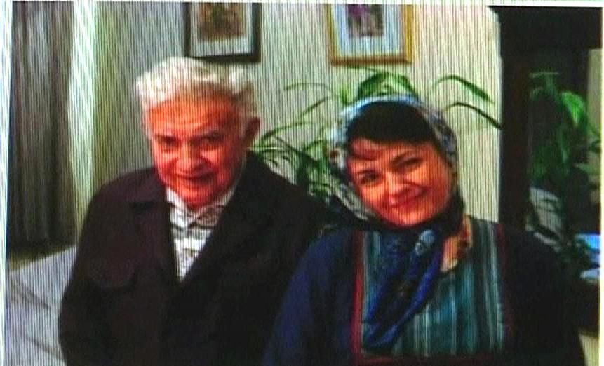 Háleh Sahábíová s otcem