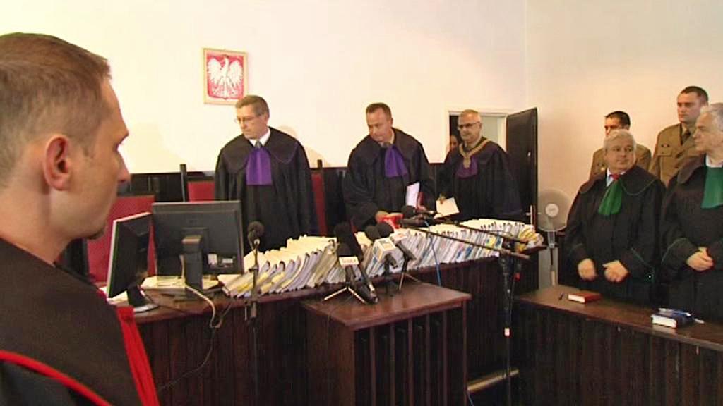 Soud s polskými vojáky