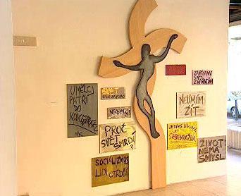 Milan Knížák - instalace