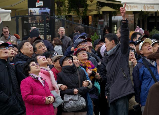 Japonští turisté