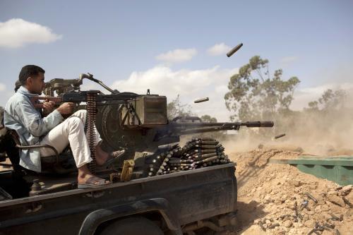 Boje v Libyii