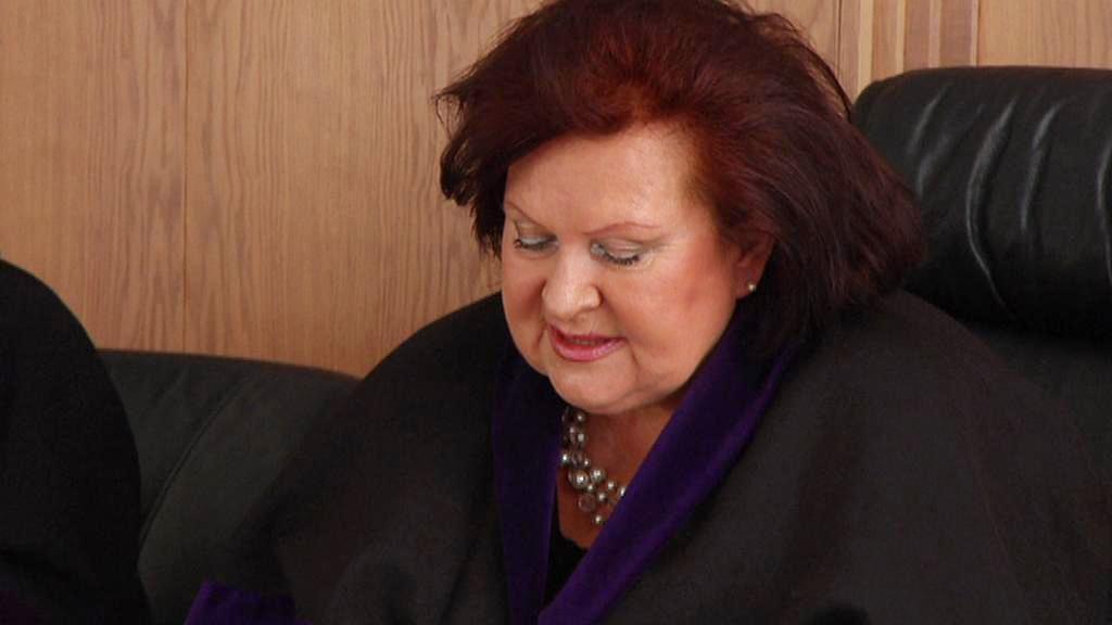 Soudkyně Romana Vostrejšová
