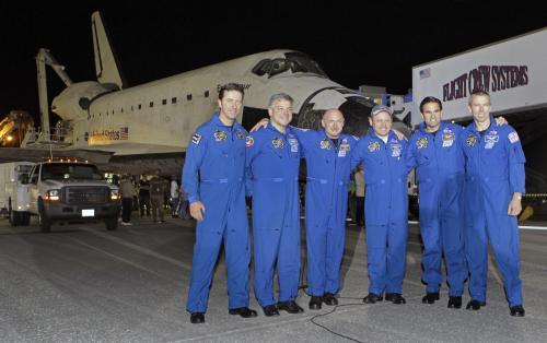 Poslední posádka raketoplánu Endeavour