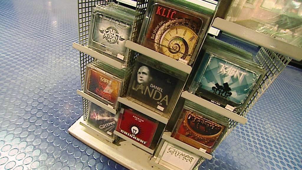 Prodejna hudebních nosičů