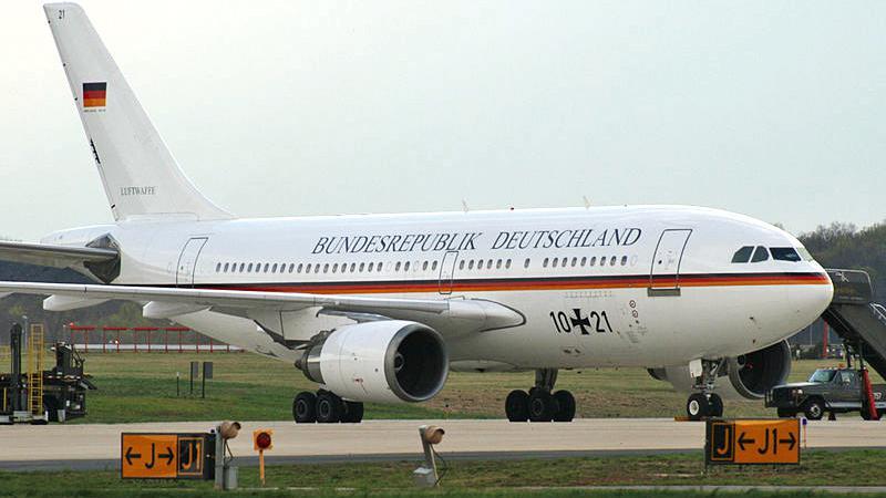 Německé vládní letadlo