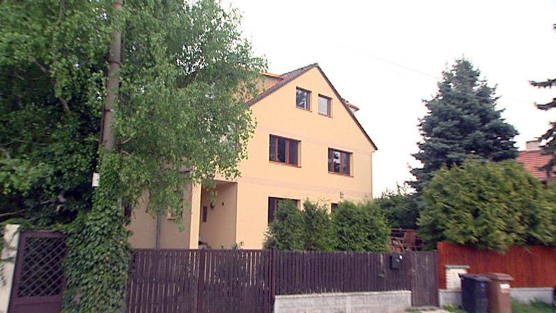 Rodinný domek experta na arbitráže Radeka Šnábla