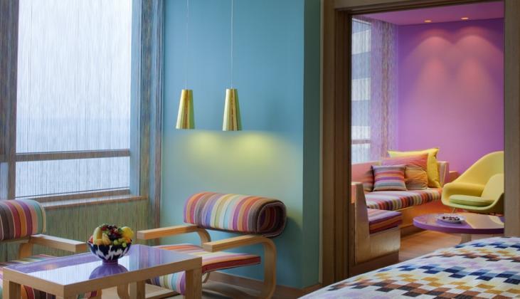 Pokoj v hotelu Missoni