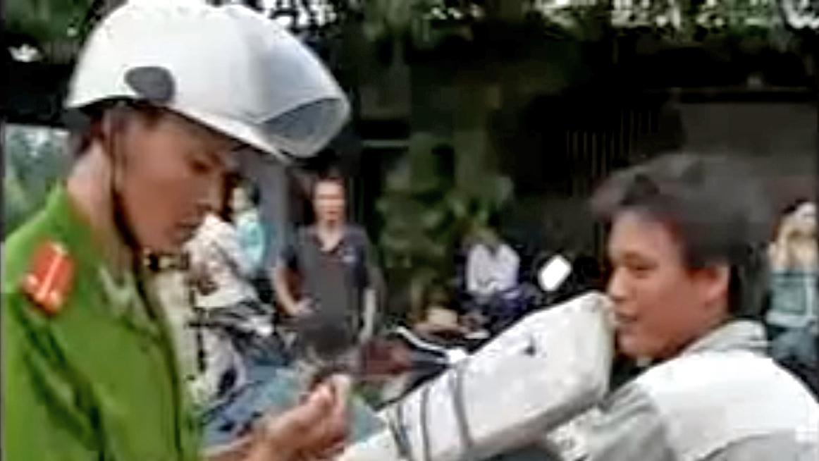 Vietnamský policista