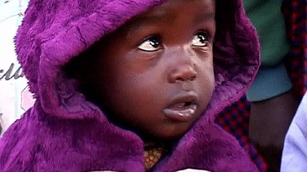 Tanzanské dítě