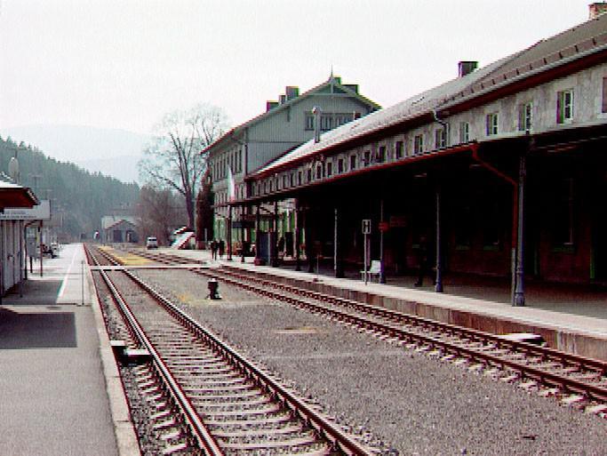 Železnorudské nádraží