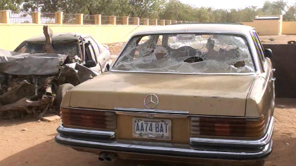 Výbuch v Nigérii