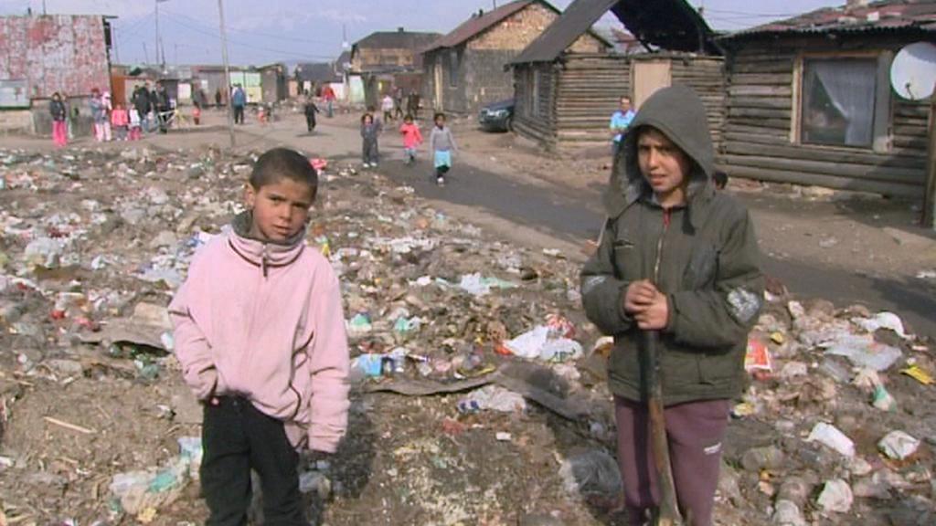 Děti z romské osady