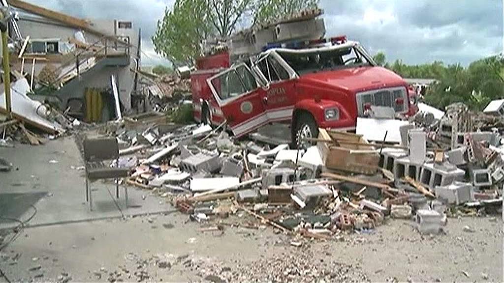 Následky tornáda v Joplinu
