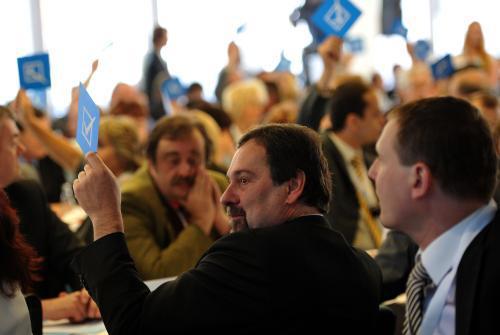 Hlasování při konferenci Věcí veřejných