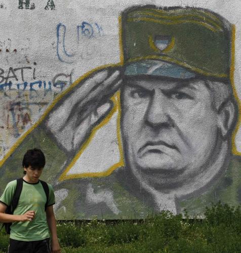 Portrét Ratka Mladiče na zdi
