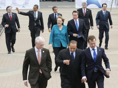 Státníci na summitu G8