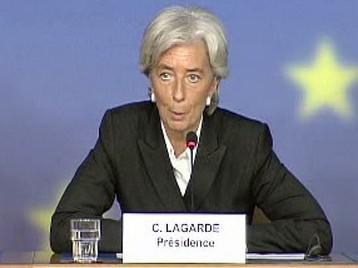 Francouzská ministryně hospodářství, průmyslu a zaměstnání Christine Lagardeová