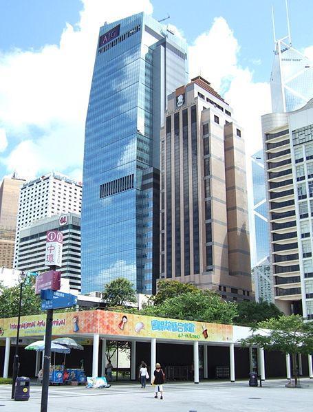 Budova pojištovny AIG