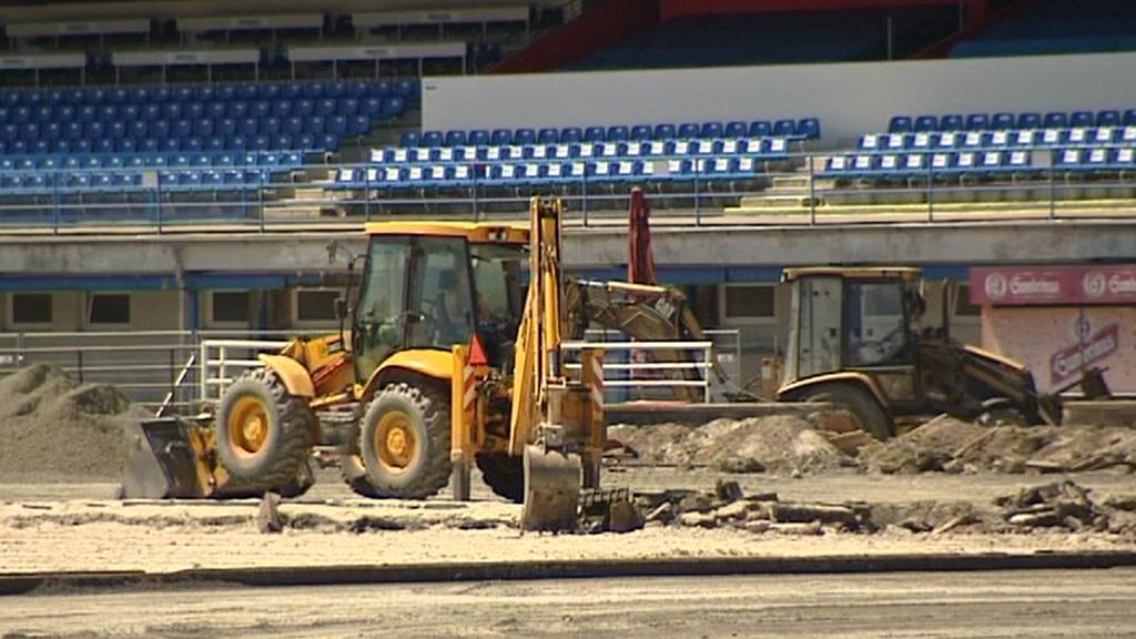 Rekonstrukce stadionu