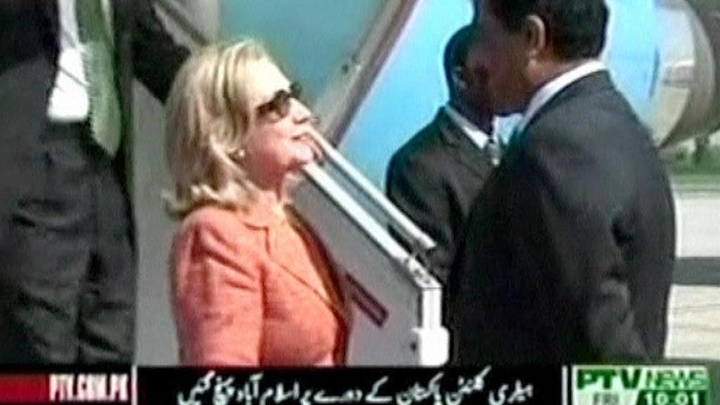 Hillary Clintonová v Pákistánu