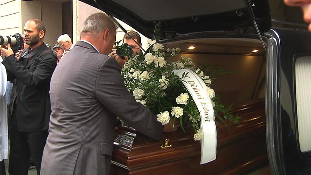 Pohřeb Eduarda Janoty