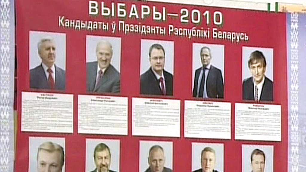 Běloruské prezidentské volby