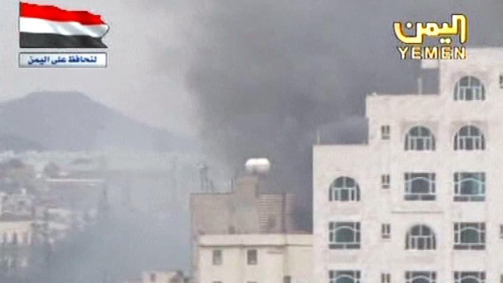Výbuchy v Jemenu