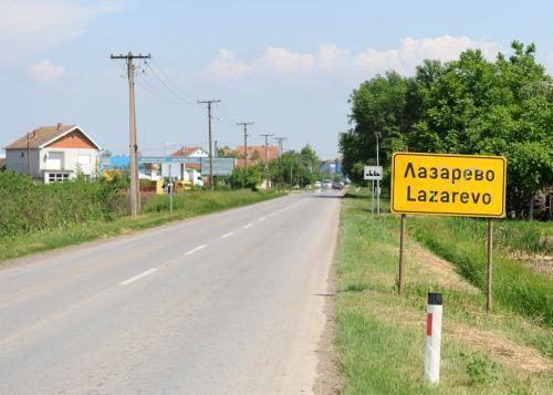 Srbská vesnice Lazarevo